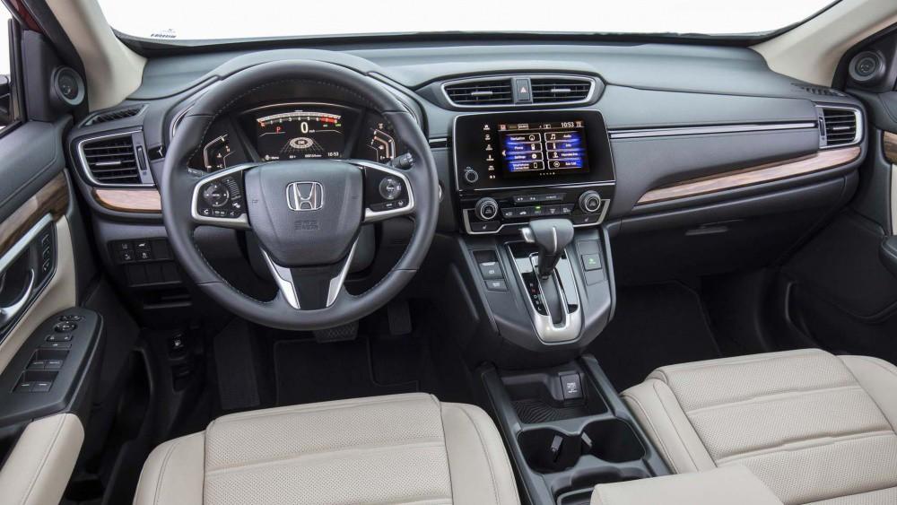 Nội thất xe Honda CR-V 2019