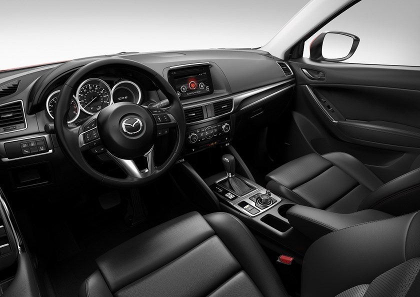 Nội thất xe Mazda CX5 2019