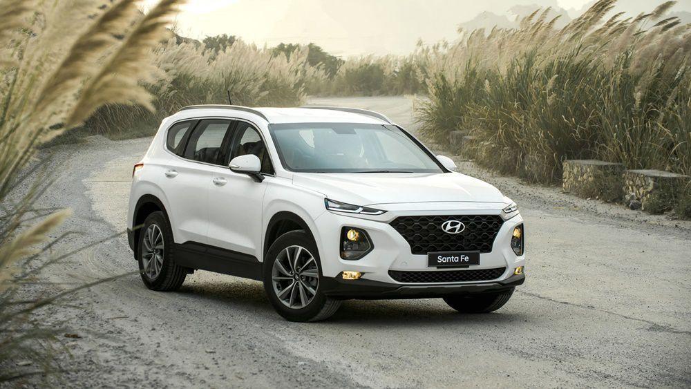 Giá xe ô tô Hyundai SantaFe 2019