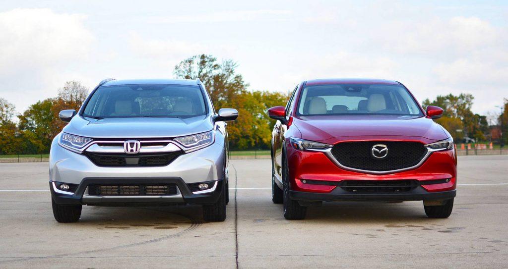 So sánh Mazda CX5 2019 với Honda CR-V 2019