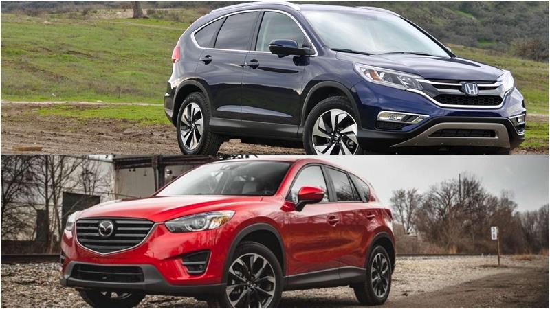 So sánh Mazda CX5 2019 với Honda CR-V 2019 về ngoại thất