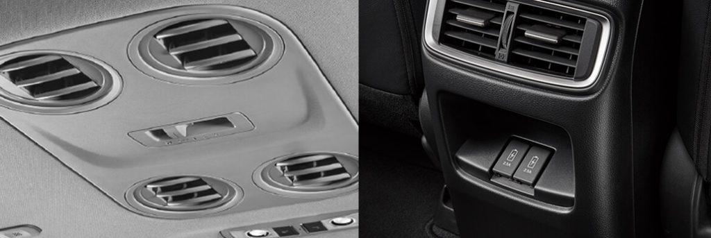 Hệ thống điều hòa trên Honda CR-V và Mazda CX5