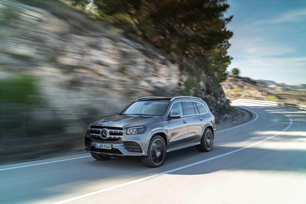 Mercedes-Benz GLS-Class 2020 đối thủ xứng tầm của BMW X7