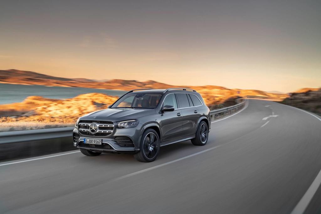 Khả năng vận hành của Mercedes-Benz GLS-Class 2020