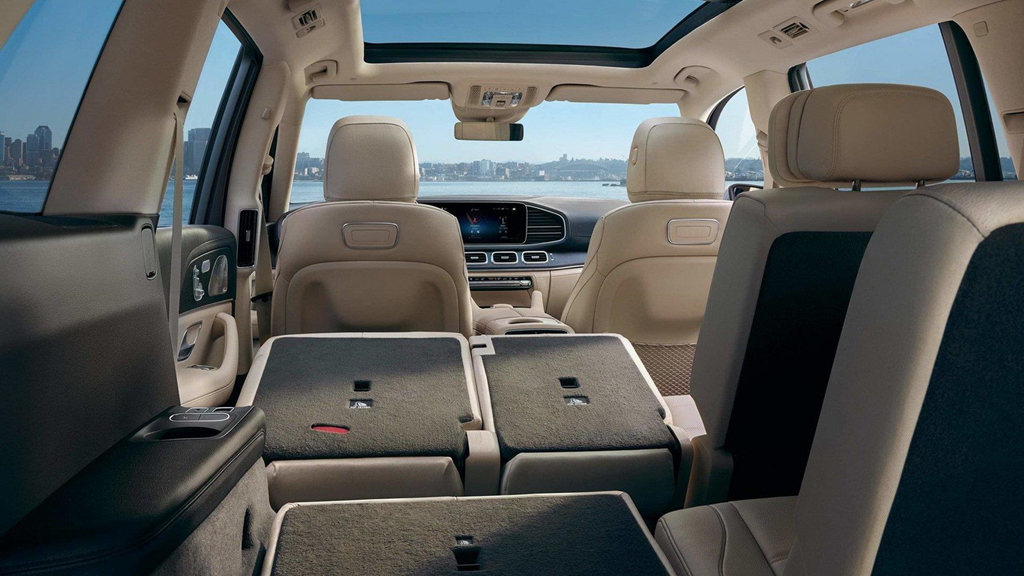 Thiết kế nội thất của Mercedes-Benz GLS-Class 2020