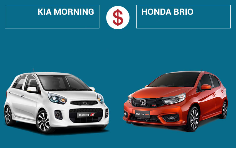 Giữa Honda Brio 2019 và KIA Morning 2019 nên chọn xe nào?