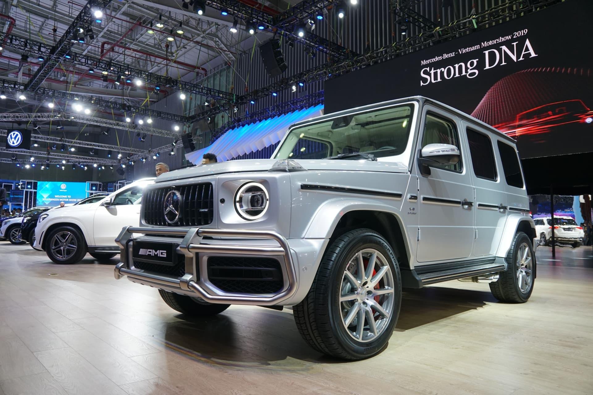 """Cận cảnh """"Vua địa hình"""" Mercedes-AMG G63 2020"""