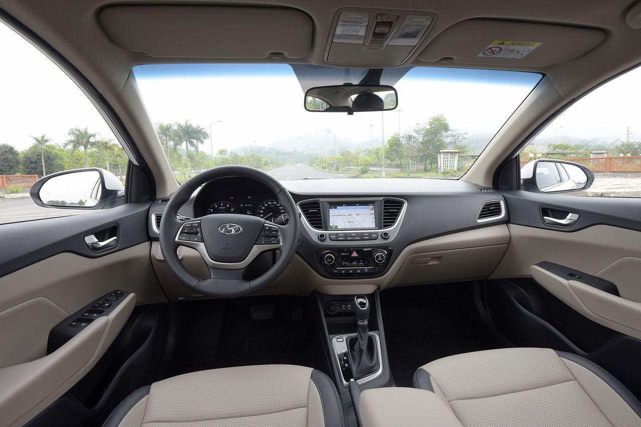Nội thất xe Hyundai Accent 2019