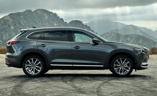 Mazda CX9 ra mắt tại Mỹ với nhiều thay đổi về ngoại hình và công nghệ