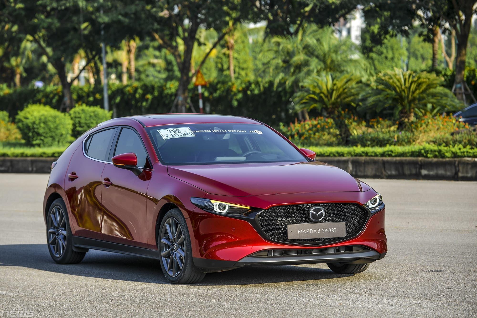 Mazda 3 2020 hoàn toàn mới với nhiều trang bị hiện đại