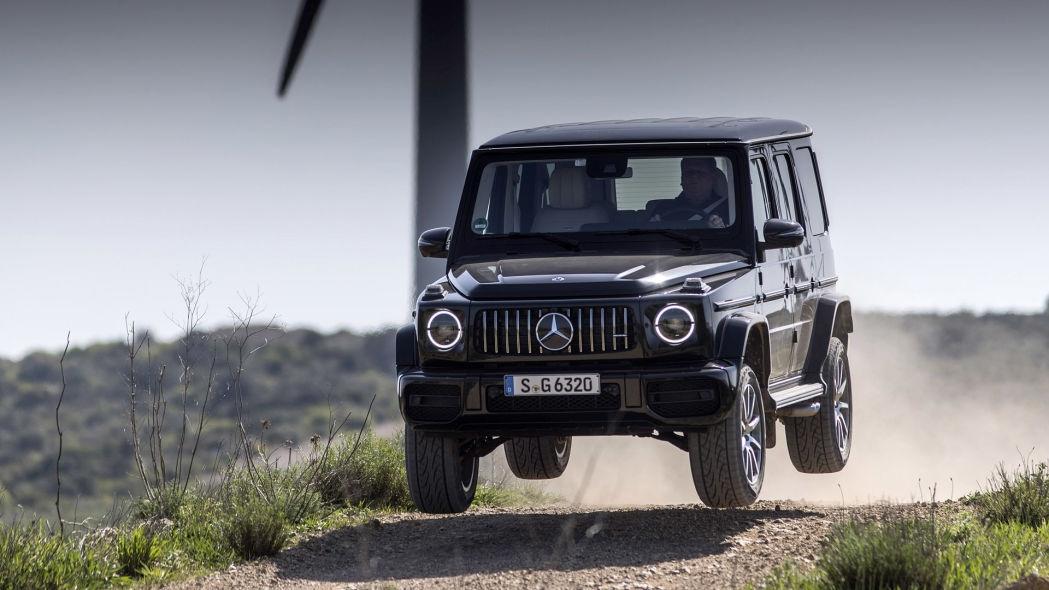 Mercedes sẽ sản xuất phiên bản G-Class chạy điện