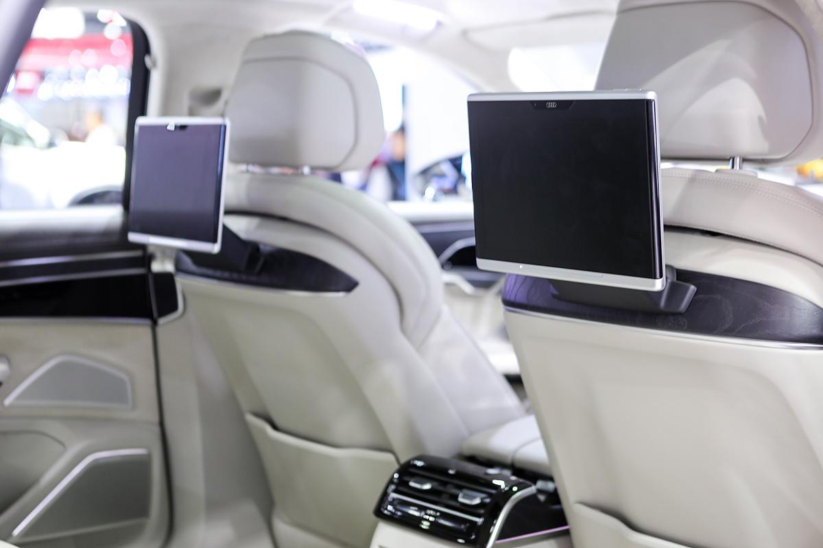 Trang bị tiện nghi cao cấp của Audi A8L
