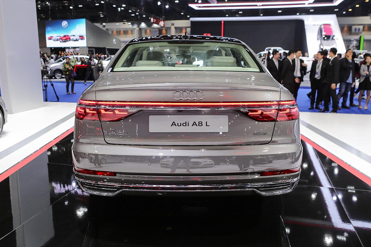 Chi tiết về xe Audi A8L thu hút từ thiết kế đến công nghệ
