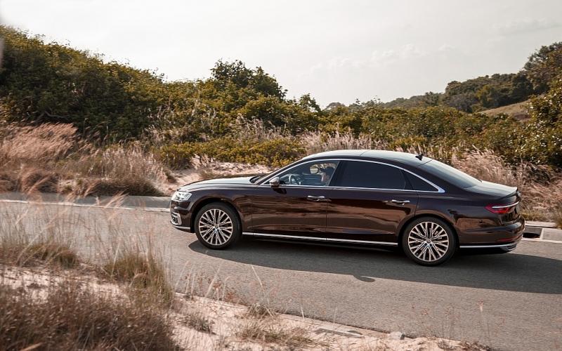 Khả năng vận hành của Audi A8L