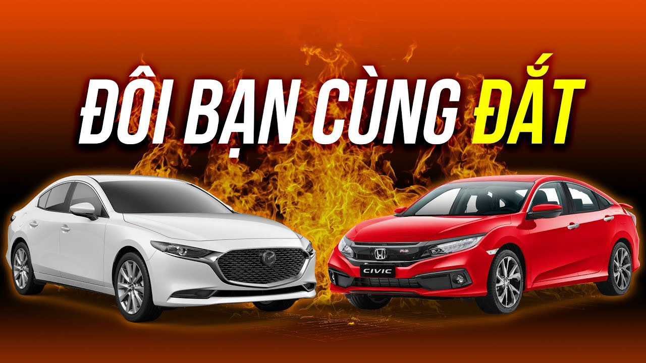Chọn Mazda 3 2020 hay Honda Civic RS 2020?
