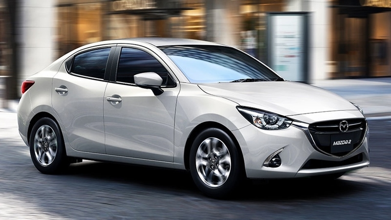 Ngoại thất xe Mazda 2