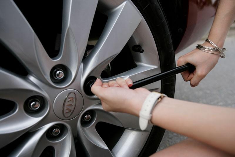 Nguyên tắc giúp bạn thay lốp ô tô dễ dàng, nhanh chóng