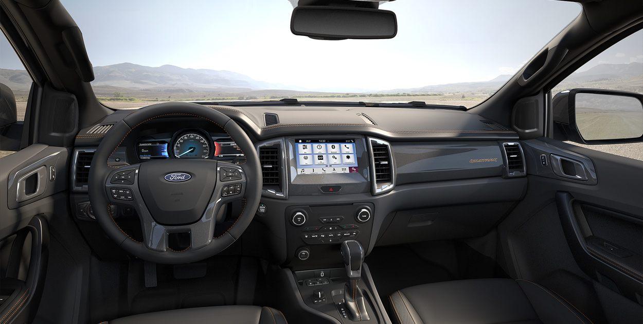 Nội thất Ford Ranger 2019