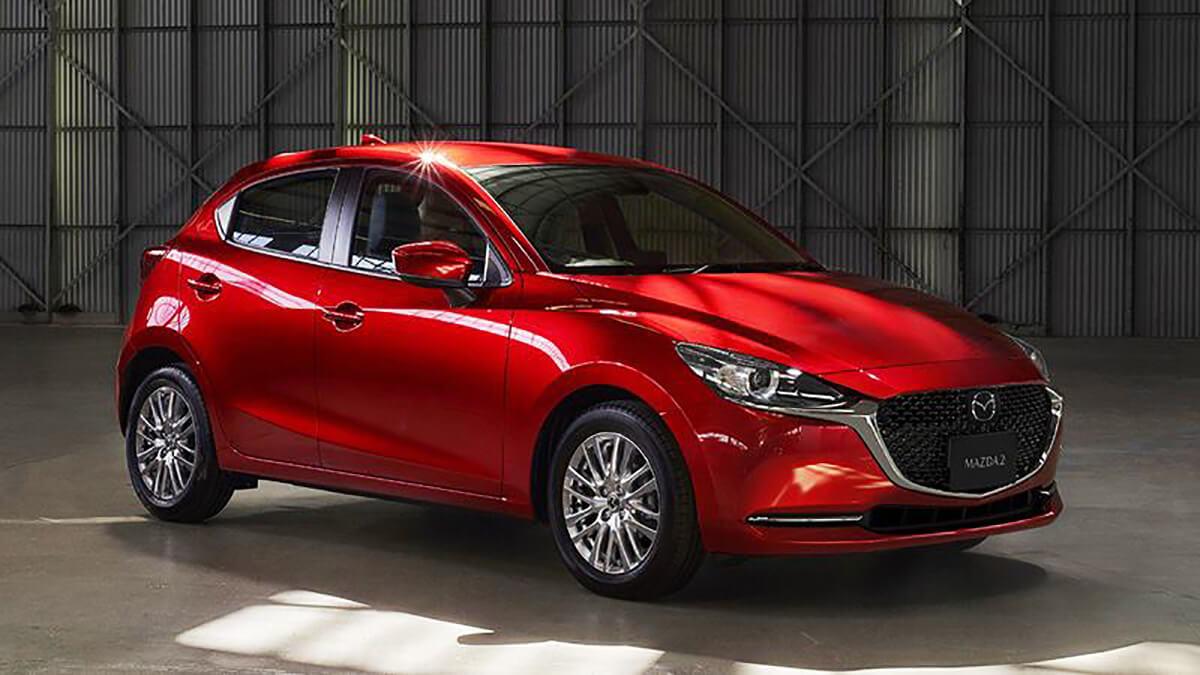 Chi tiết về xe Mazda 2