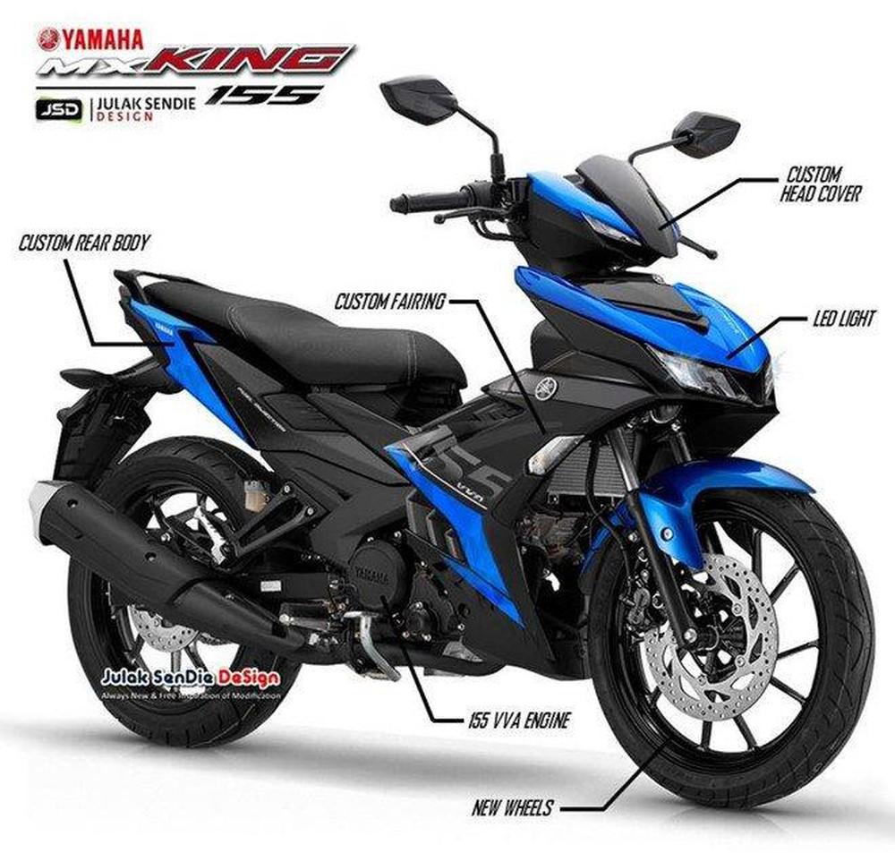 Yamaha Exciter 155 lộ diện nhiều tính năng hoàn toàn mới
