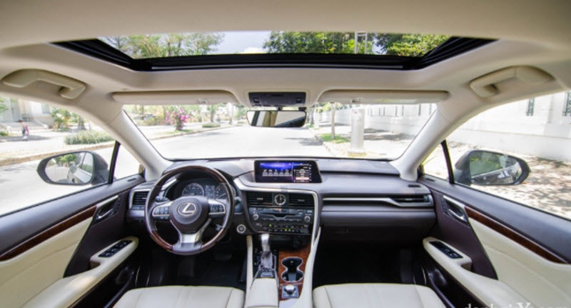 Nội thất Lexus RX350