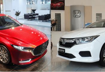 Chọn Mazda 3 2020 hay Honda City 2020?