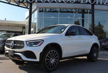 Mercedes-Benz GLC 300 Coupe 2020 sắp về Việt Nam