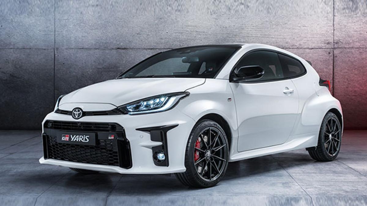 Toyota Yaris 2020 có thêm phiên bản xe đua thể thao