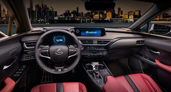 Cận cảnh Lexus UX 2020 vừa về Việt Nam