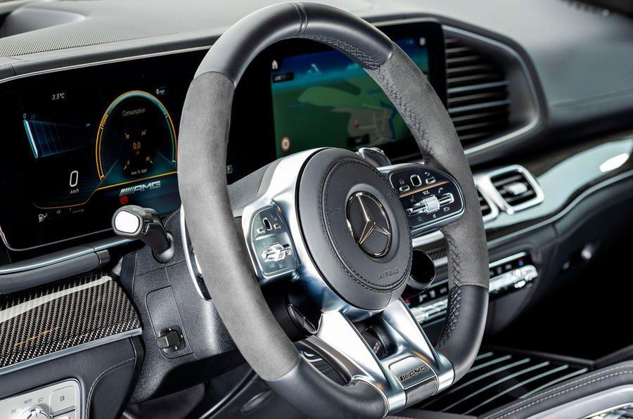 Đánh giá xe Mercedes AMG GLE 53 2020 về trang bị tiện nghi