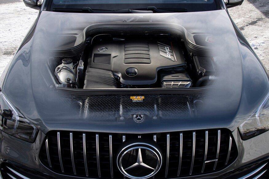Đánh giá xe Mercedes AMG GLE 53 2020 về động cơ
