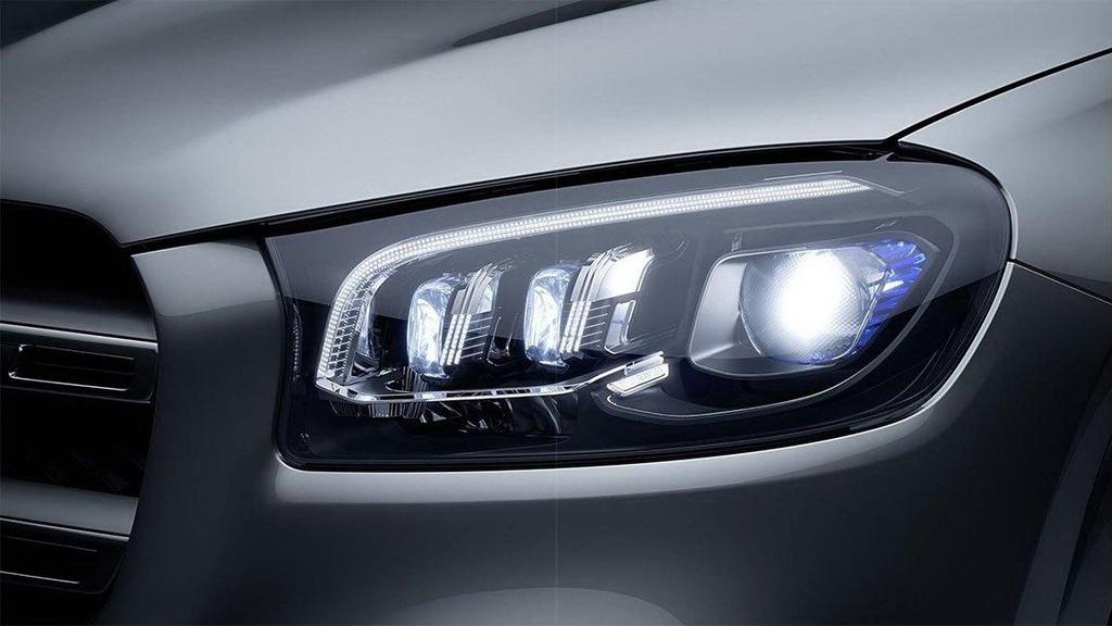 Soi chi tiết xe Mercedes-Benz GLS-Class 2020