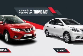 Chọn xe Nissan X Trail hay Nissan Sunny cho gia đình trẻ?