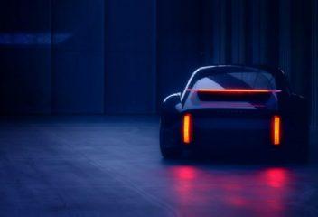 Hyundai nhá hàng Concept Sedan thể thao mới, thiết kế ấn tượng