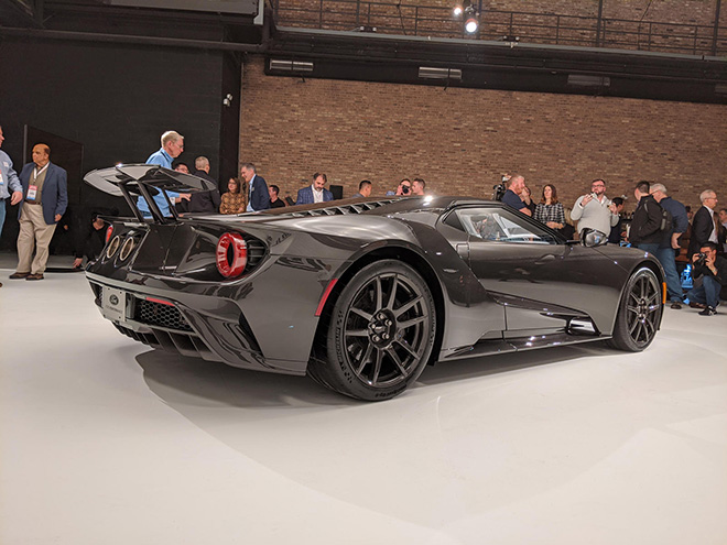 Cận cảnh Ford GT 2020 thế hệ mới mạnh 660 mã lực
