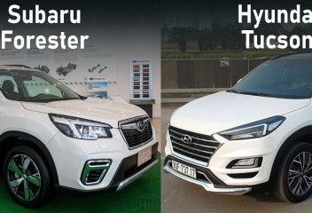 Chọn Hyundai Tucson 2020 hay Subaru Forester 2020?