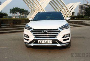 Đầu xe Hyundai tucson