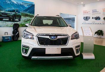 Đầu xe Subaru Forester