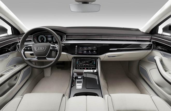 Nội thất xe Audi Q7 2020