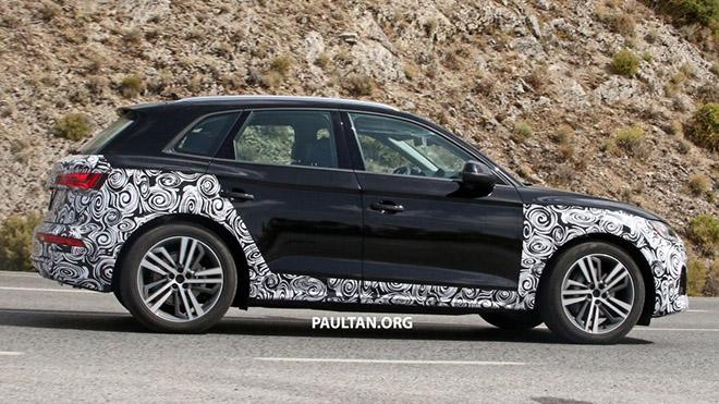 Audi Q5 Sportback 2020 sắp ra mắt - Đối thủ của BMW X4 và GLC Coupe