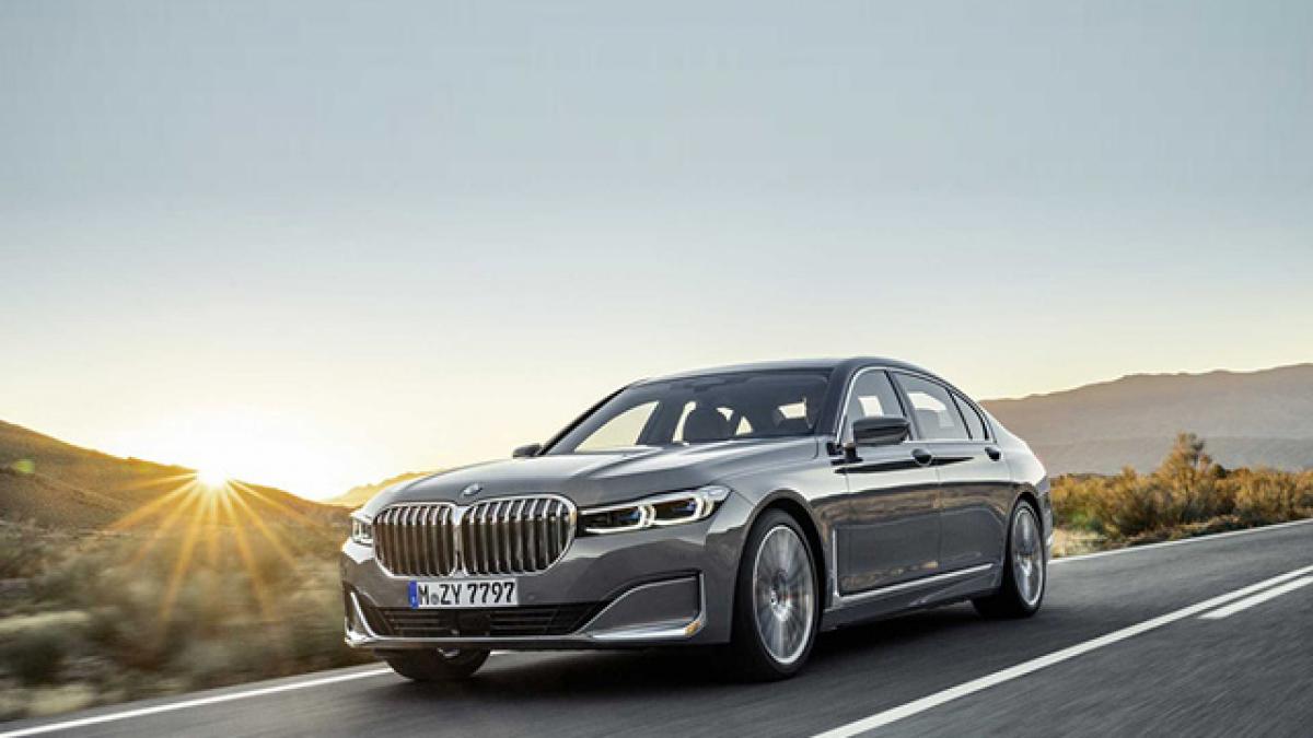 BMW Series-7 facelift sắp ra mắt 3 phiên bản tại thị trường Việt Nam
