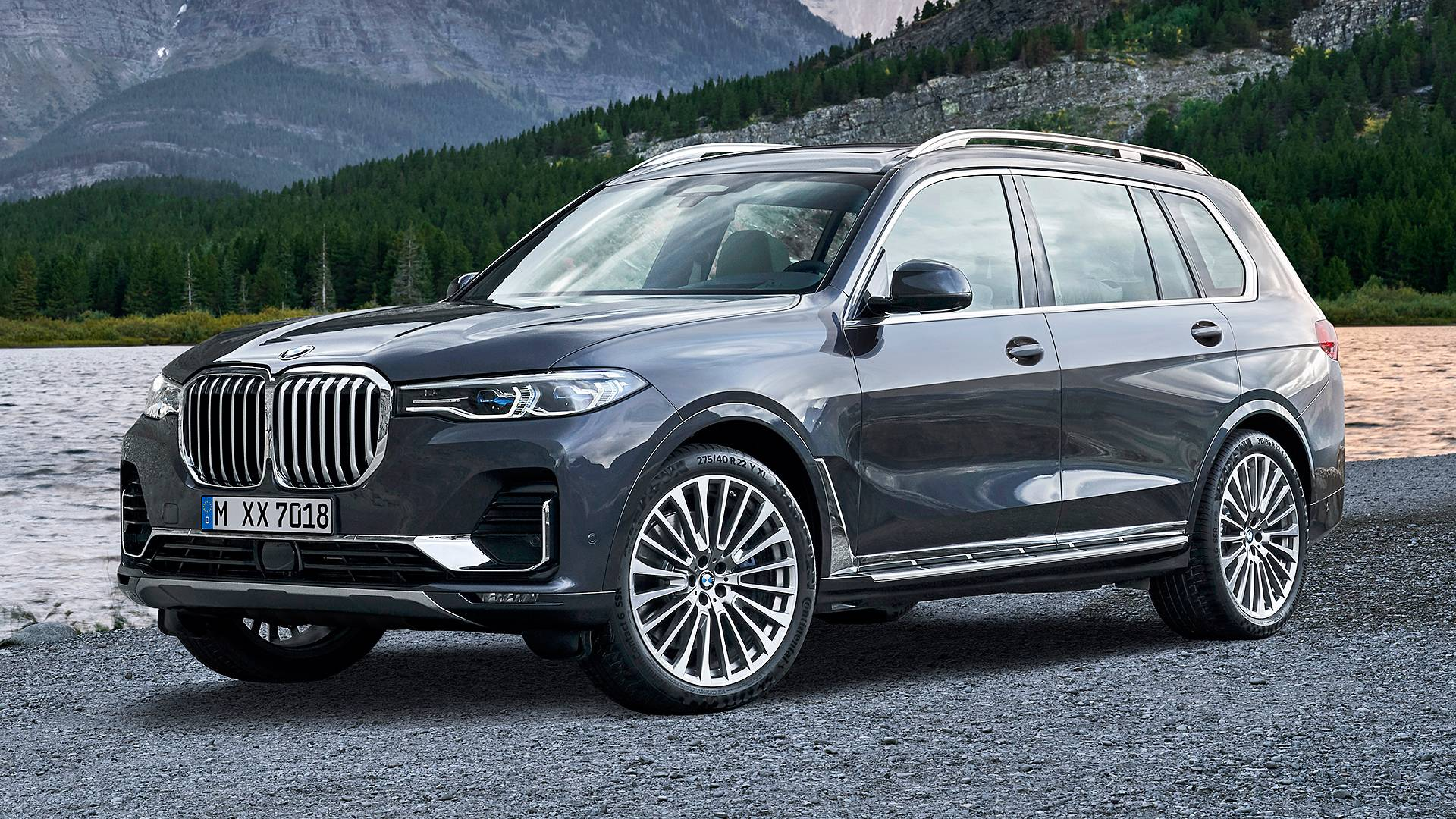 Mẫu xe SUV hạng sang BMW X7 giảm giá 350 triệu đồng