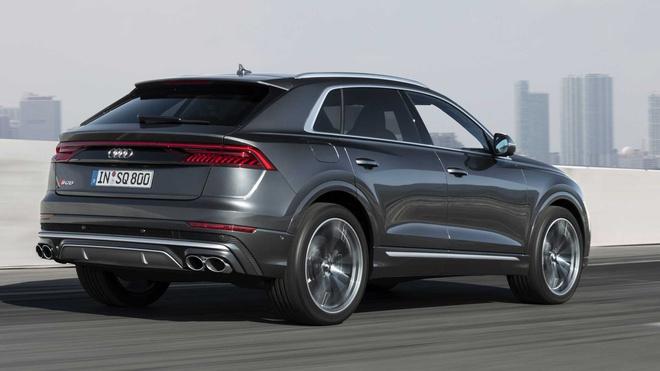 Cận cảnh Audi SQ8 2020 với thiết kế thể thao đầy cuốn hút