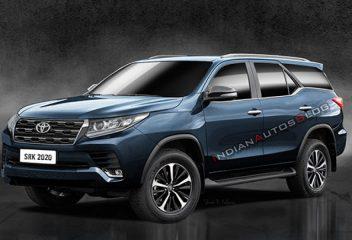 Toyota Fortuner 2021 dự kiến ra mắt cuối năm nay với nhiều thay đổi về thiết kế