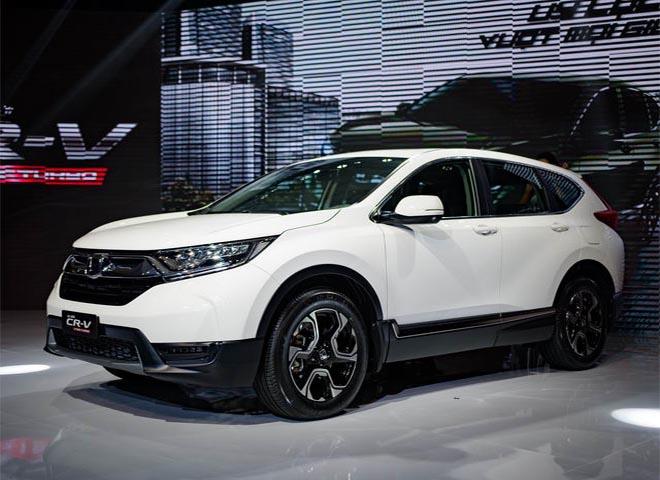 Honda CRV giảm giá lên tới 130 triệu đồng tại một số đại lý