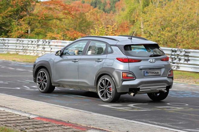 Hyundai Kona N mạnh 275 mã lực, số sàn 6 cấp và hệ dẫn động AWD