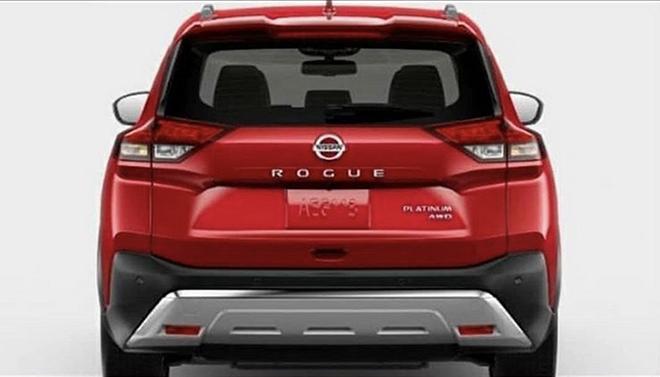 Lộ diện hình ảnh đầy đủ nội thất và ngoại thất Nissan X-Trail 2021