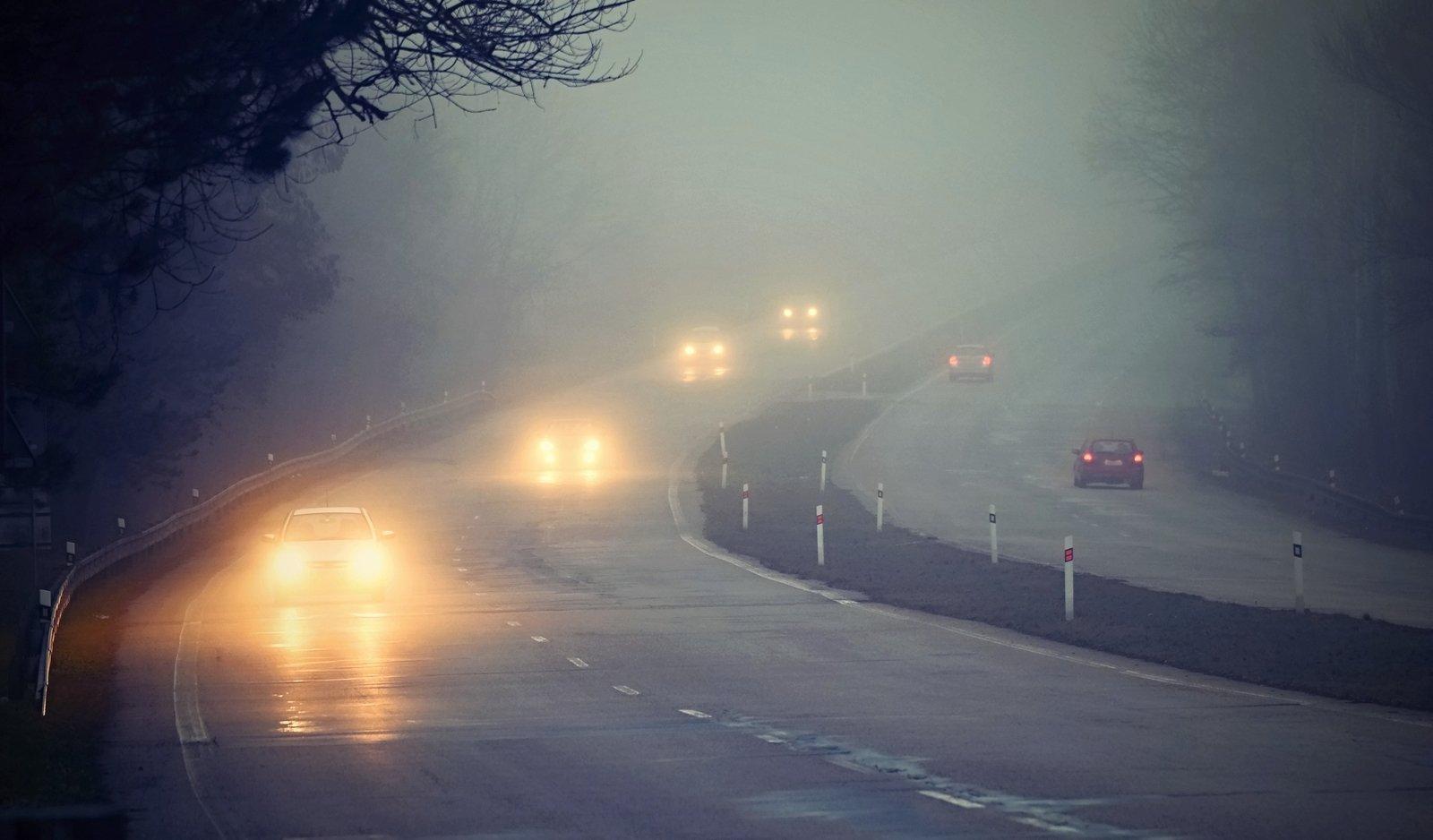 Những sai lầm tài xế dễ mắc phải khi lái xe trong thời tiết sương mù
