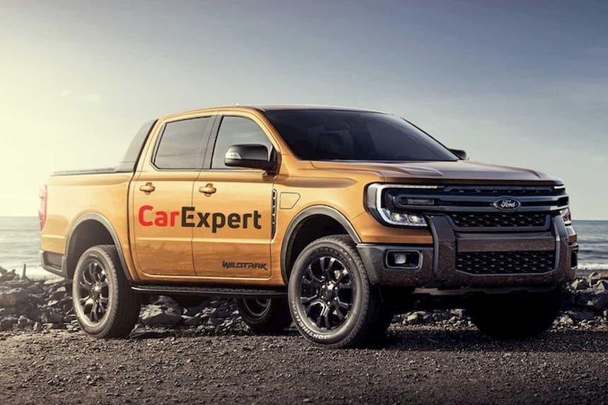 Ford Ranger thế hệ mới góc cạnh và nam tính hơn
