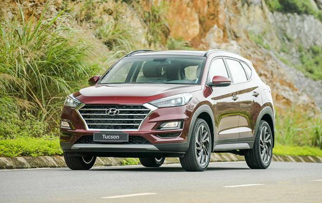Hyundai Tucson giảm giá lên tới 70 triệu đồng ở một số đại lý